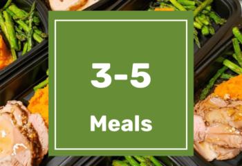 3-5 Meals