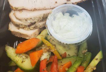Greek Pork Pita